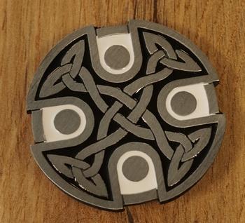 "Buckle / gesp  "" Celtic Cross Knot  """