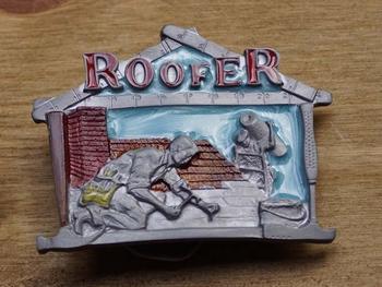 "Losse gesp  "" Roofer ""  (  Dakdekker )"
