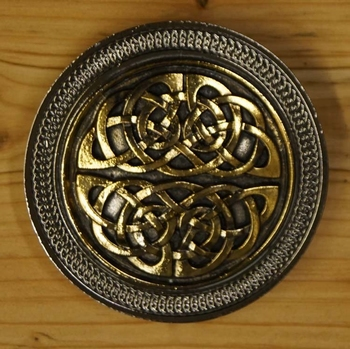 "Buckle  "" Celtic knot in two part ""  UITVERKOCHT"