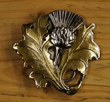 "Celtic belt buckle  "" Thistle """