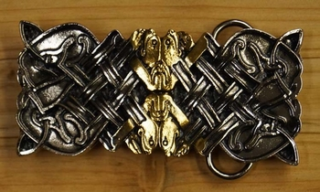 "Belt buckle  "" Celtic Design """