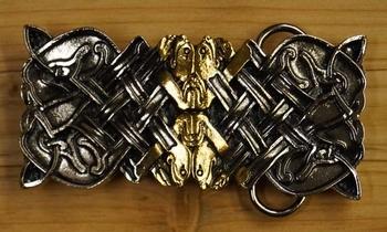 """Belt buckle  """" Celtic Design """""""