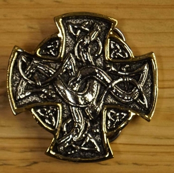 "Belt buckle  "" English cross """