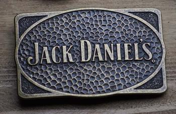 """Losse gesp  """" Jack Daniels  """"  Koper kleurig"""