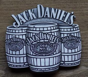 "Belt buckle   "" Jack Daniel's  ""  3 wiskey vatten"