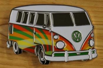 """Belt buckle  """" Hippie volkswagen busje """""""