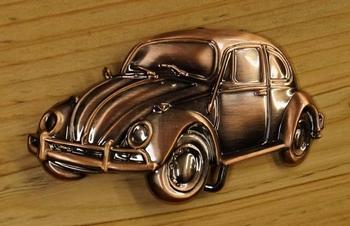 """Belt buckle  """" Volkswagen Kever """"  Koper kleurig"""