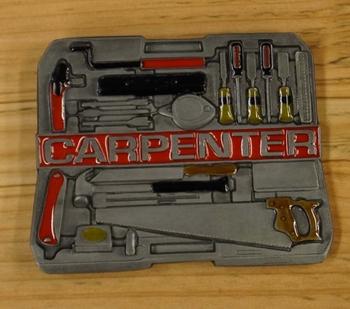 "Losse gesp  "" Carpenter ""  ( Timmerman )"