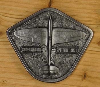 """Buckle  """" Supermarine  spitfire mk5 """""""