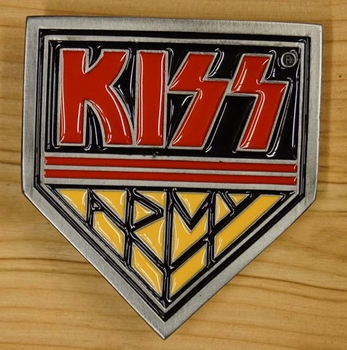"Belt buckle  "" Kiss """