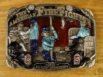 "Gesp  "" The American firefighter "" ( Brandweerman )"