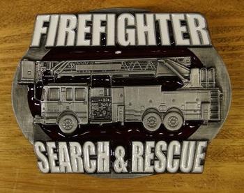 "Gesp  "" Firefighter search & rescue "" ( Brandweerman )"