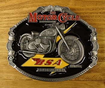 "Motor cylce buckle  "" BSA """
