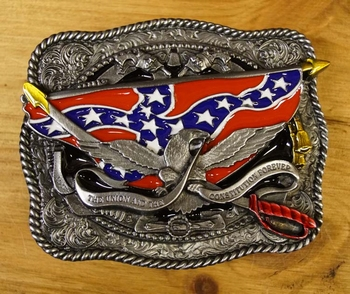 """Buckle  """" The union and the constitution forever """""""