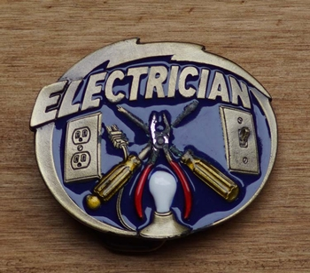 """Losse gesp  """" Electrician """"  ( Elektricien )"""