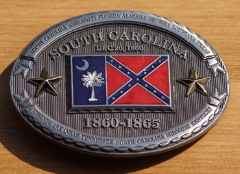 "Riemgesp  "" South Carolina 1860 - 1865 """