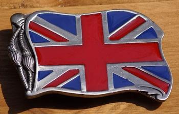 "Gesp buckle  "" Britse vlag """