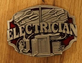"Losse gesp  "" Electrician """