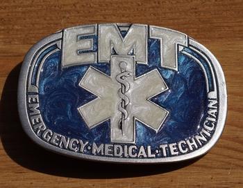 """Losse gesp  """" EMT """"   ( Ambulancebroeder )"""