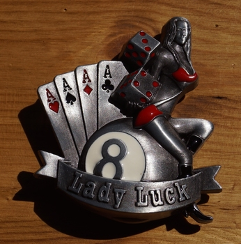 "Buckle "" Lady luck """