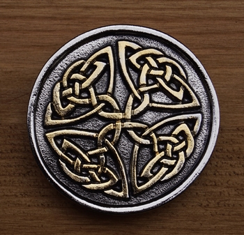 "Buckle  "" Two celtic knot """