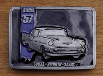 "Buckle / gesp  "" American '57  sweet, smooth, sassy """