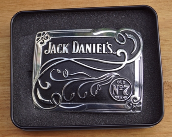 "Jack Daniel's gesp  "" Jack Daniels ""  Siermotief"