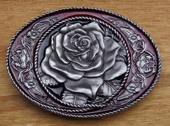 "Line dance buckle  "" Country roos """