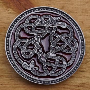 """Buckle / gesp  """" Keltische slang """""""