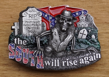 "Buckle  "" The south will rise  """