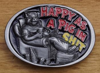 """Humor gesp  """" Happy a pig """""""