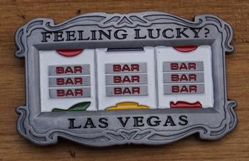 "Belt buckle  "" Gokkast  Las Vegas """