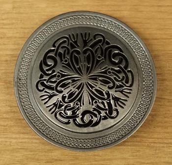 "Buckle / gesp  "" Celtic flower """