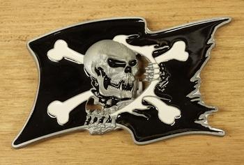 "Buckle  "" Piratenvlag """