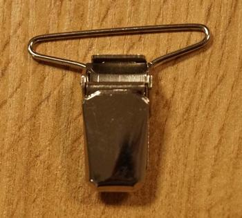 """bretels clip  """" 3 cm breed """"   per stuk"""