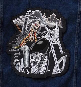 """Applicaties  """" Skelet op motorcycle """""""