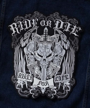 "Applicaties  "" Ride or die biker for free """