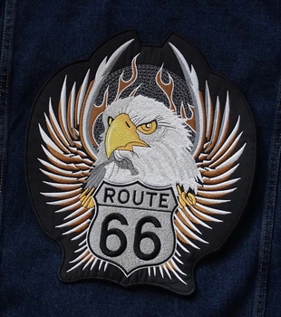 "Applicaties  "" Route 66  eagle """