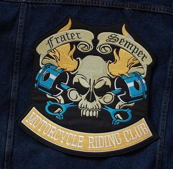 "Applicaties  "" Frater semper motorcylce riding club """
