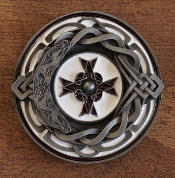 "Buckle  "" Celtic cross """