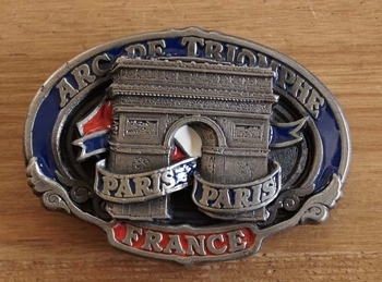 "Buckle  "" Arc de triomphe paris paris """