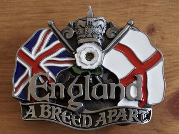 "Buckle  "" England a breed apart """