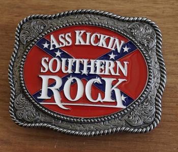 "Buckle  "" Southern rock ass kickin """