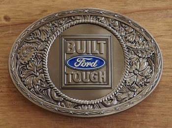 "Buckle / gesp  "" Ford Built Tough """