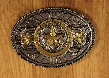 """Texas buckle  """" Skull  """""""