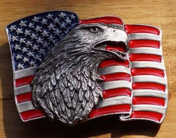 """Siergesp  """" Adelaar met U.S.A. vlag """""""