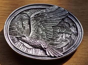 """Siergesp  """" Vliegende adelaar in bergen """""""