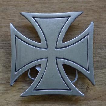 """Buckle / gesp  """" Gothic kruis """""""
