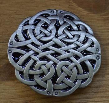 "Celtic buckle  "" Oneindige knoop ""  UITVERKOCHT"
