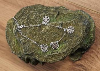 "Zilveren armband  "" Levensboom """